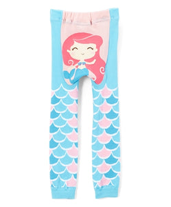 Doodle Pants - Mermaid Cotton Leggings