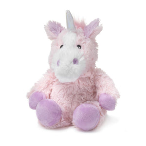 "Warmies Junior Plush 9"" Pink Unicorn"