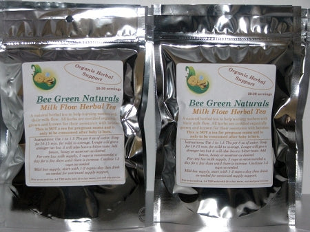 Bee Green Naturals - Milk Flow Herbal Lactation Tea