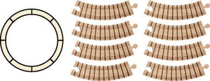 Maple Landmark - NameTrain Circle Track Set 8 piece