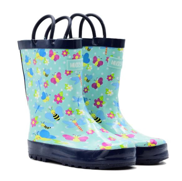 Mucky Wear Garden of Wings Loop Boot