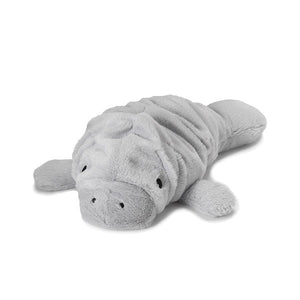 "Warmies Cozy Plush 13"" Manatee"