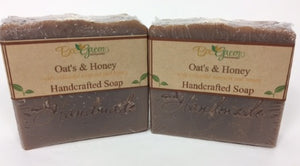 Bee Green Naturals Oats & Honey Soap