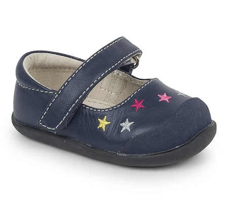 See Kai Run - Harriett Navy Shoe
