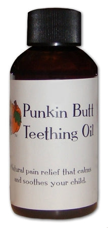 Punkin Butt Teething Oil 2 oz (BPA-Free Plastic)