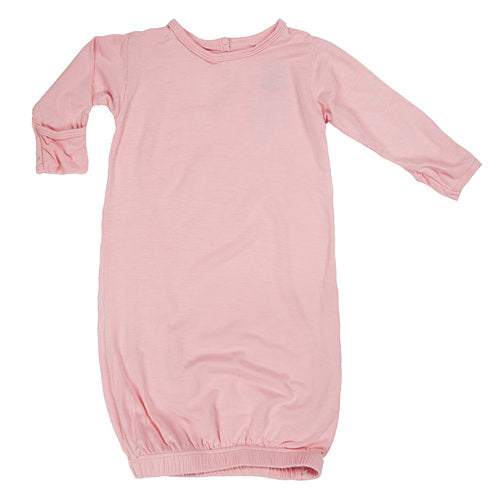 Kickee Pants - Basic Layette Gown in Lotus (Newborn)
