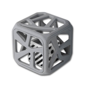 Munch Mitt Baby Chew Cube - Grey