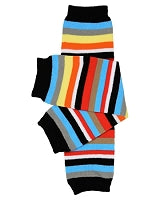 juDanzy One Size Leg Warmer - Michael Stripe
