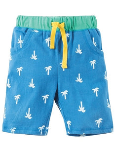 Frugi - Sean Shorts Palm Springs/Camel (SS18)