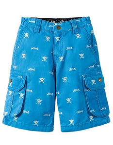Frugi - Explorer Shorts Skull and Bones (SS18)