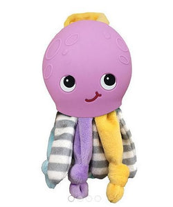 Silli Chews - Ollie Octopus Teether Buddy Purple