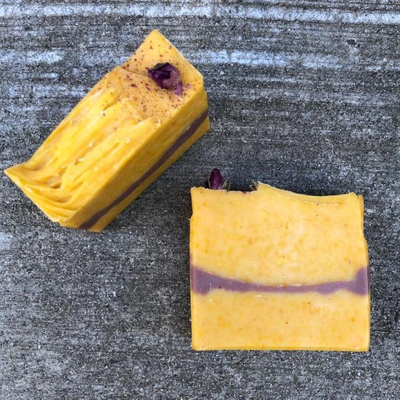 Bee Green Naturals Lemon Rose Geranium Soap