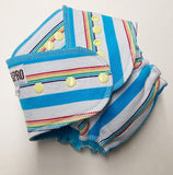 Southern Comfort Fitted Diaper (SoCo) - Beach Party Size 1