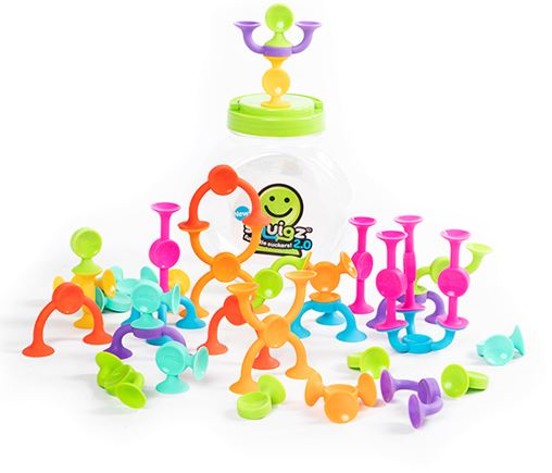 Fat Brain Toys - Squigz 2.0 (36 piece)