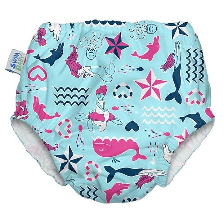My Swim Baby Swim Diaper - Little Mermaids