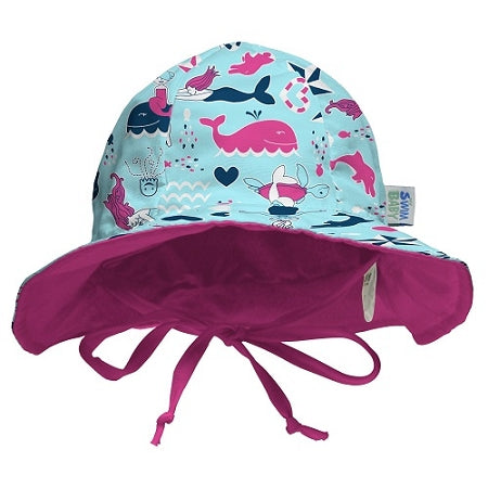 My Swim Baby Sun Hat - Little Mermaids