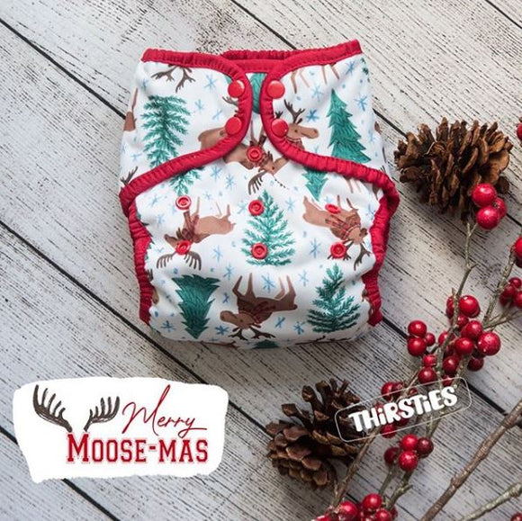 Thirsties Merry Moose-mas