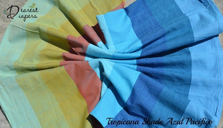 Girasol *DD Exclusive* Tropicana Shade *Azul Pacifico* Twill Woven Wrap