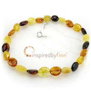 Inspired by Finn Baltic Amber Polished 4 Different Colors For Back/Hip/Belly Discomfort
