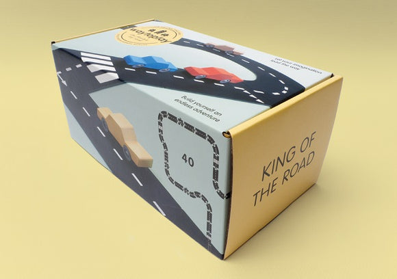Waytoplay Toy Road King of the Road Play Set