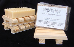 Sheepish Grins Lanolin Soap Wool Wash Bar