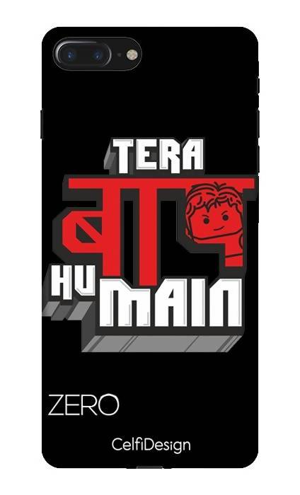 Slim Case for iPhone 7 Plus Tera Baap Hu Main