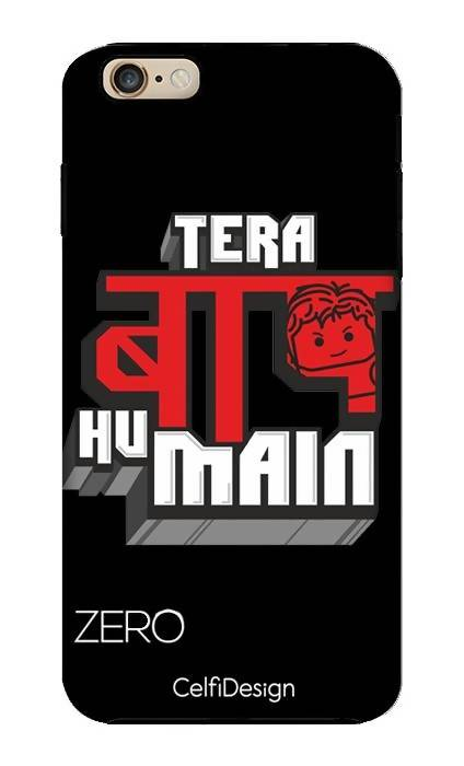 Slim Case for iPhone 6/6s plus Tera Baap Hu Main