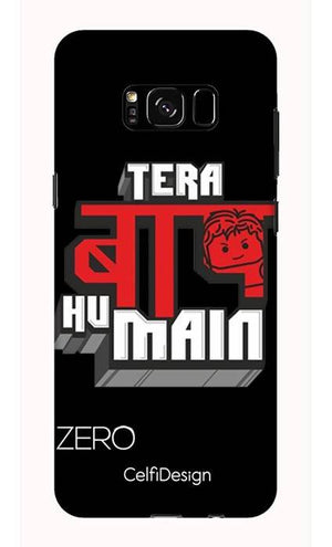 Slim Case for Galaxy S8 Tera Baap Hu Main