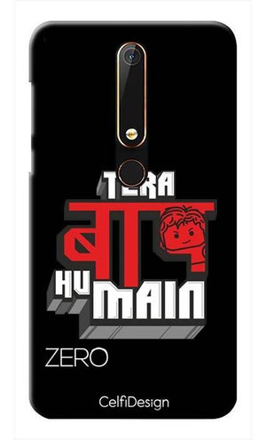 Slim Case for Nokia 6 (2018) Tera Baap Hu Main