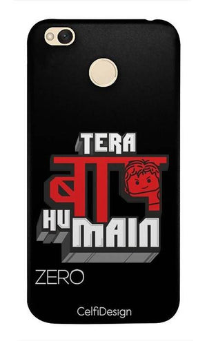 Slim Case for Redmi 4 Tera Baap Hu Main
