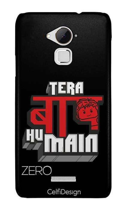 Slim Case for Coolpad Note 3 Tera Baap Hu Main