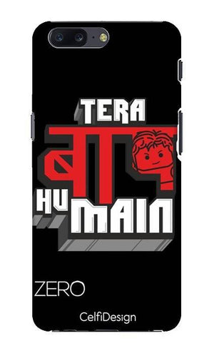 Slim Case for OnePlus 5 Tera Baap Hu Main