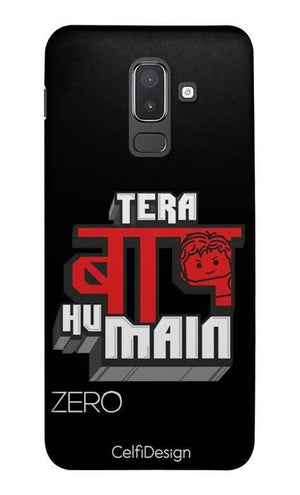 Slim Case for Samsung J8 Tera Baap Hu Main
