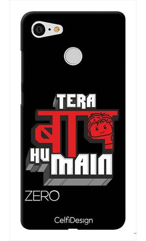 Slim Case for Pixel 3 Tera Baap Hu Main