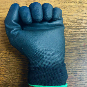Horse Stable Gloves Riding | Yard Work Polyester Grip Polyurethane palm coating | All Sizes - Farriers Equipment Farriers Tools