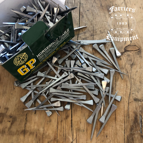 Horse Shoe Nails | Size 41.5mm long | Pack of 50 or 250 Horseshoe Nails - Farriers Equipment