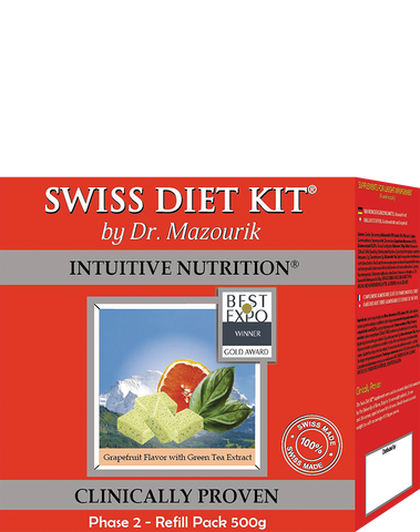 Grapefruit Swiss Diet Kit Refill Phase 2 - 4 week set