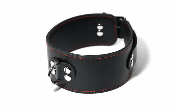 "2"" Wide Leather Collar"
