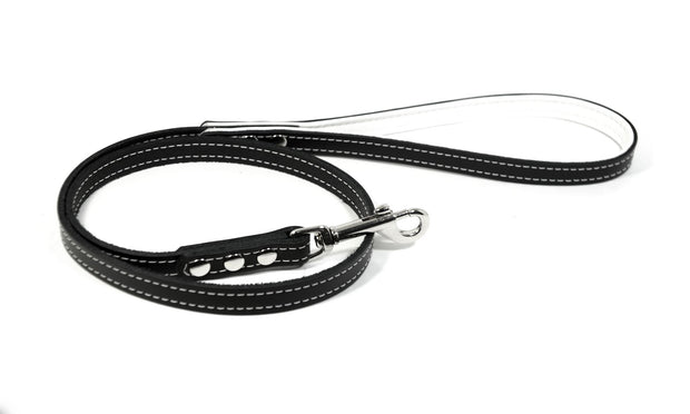 3 Foot Leather Leash