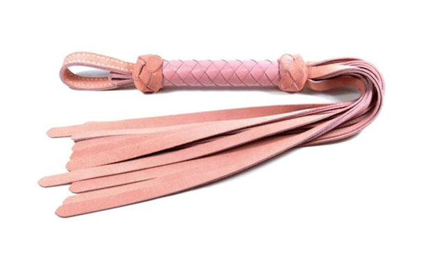 Classic Flogger - Light Pink Suede