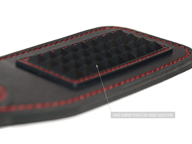 Rubber Paddle BDSM Leather Custom Spiked