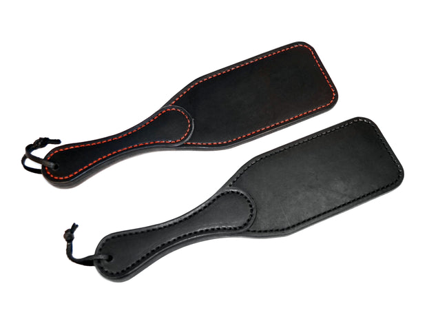 Black Leather Kinky Spanking Paddle