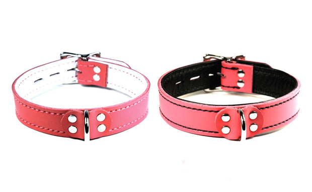 Lined Dee Ring Collar