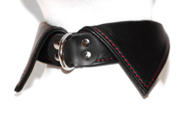 Leather Shirt Collar