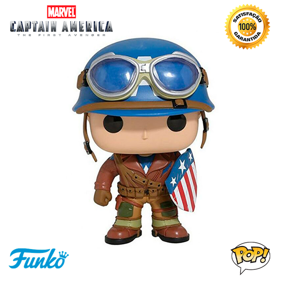 a8ce0f07ce Funko Pop Marvel CAPTAIN AMERICA