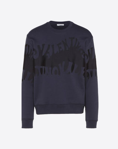 SWEAT-SHIRT VALENTINO WAVES