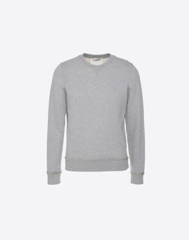 SWEAT-SHIRT EN JERSEY ROCKSTUD UNTITLED