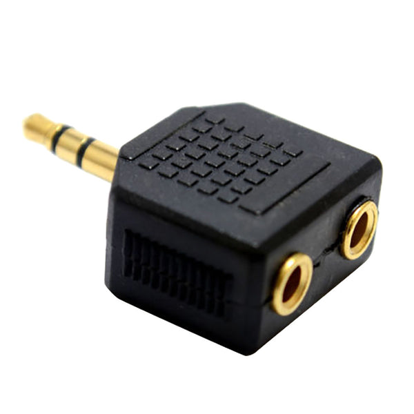 3.5mm Stereo Jack Headphone Splitter Adaptor