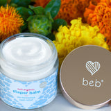 Diaper Balm – BEB Organic skincare products – Luxury, health-filled skincare for preemies – premature baby - BEB Organic Bubbly Wash - BEB Organic Silky Cream - BEB Organic Healing Gel - BEB Organic Nourishing Oil - BEB Organic Diaper Balm – Kim Walls, Preemie Skincare Expert