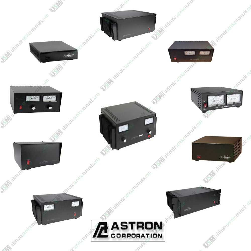 Astron Power Supply Ultimate Service Repair Manuals Schematics on